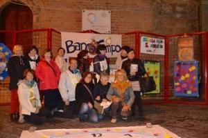 un gruppo di partecipanti all'evento